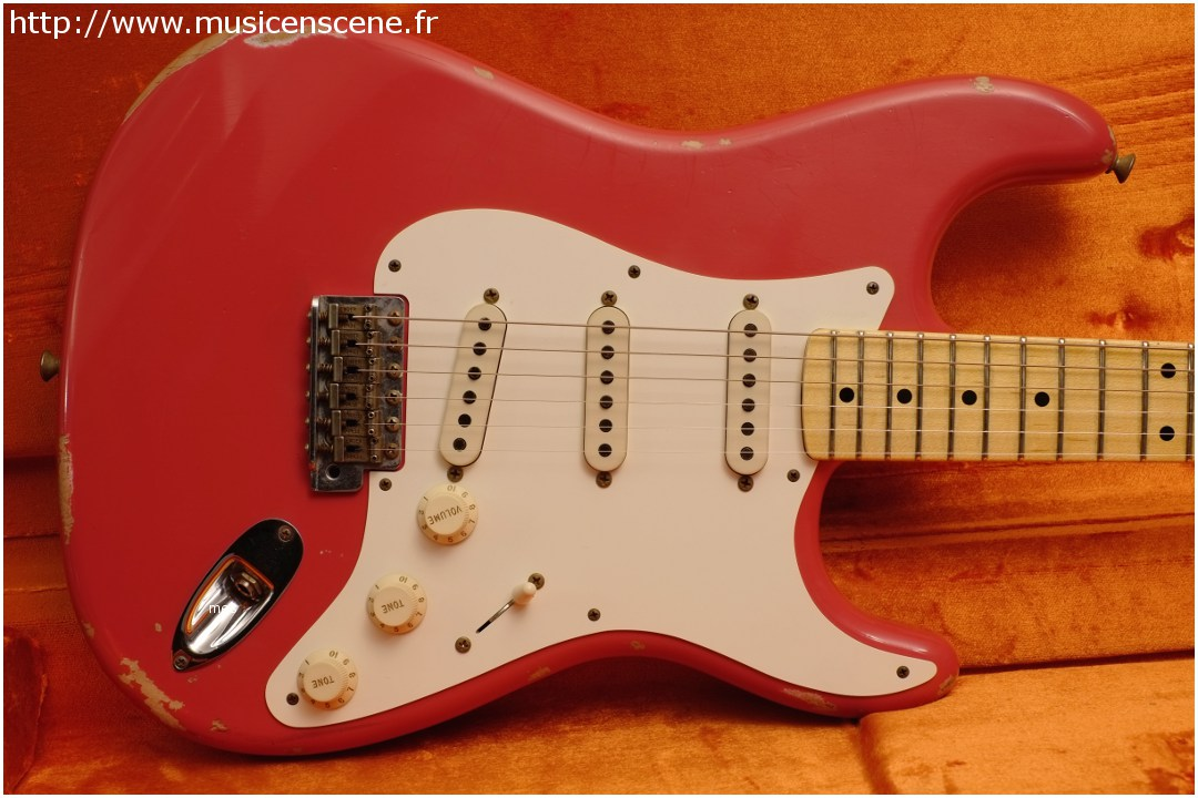 FENDER Custom Shop '57 Stratocaster Fiesta Red (VENDUE)