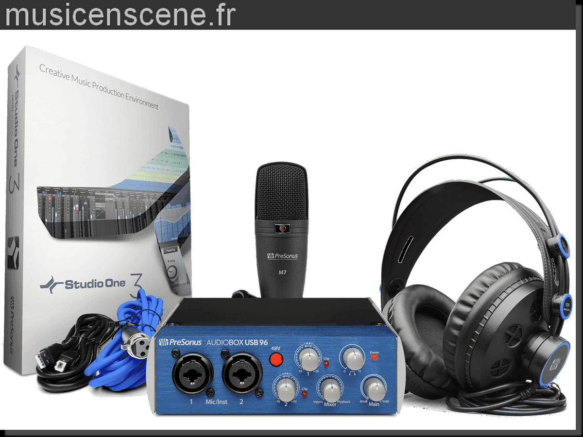 PRESONUS Audiobox 96 Pack Studio