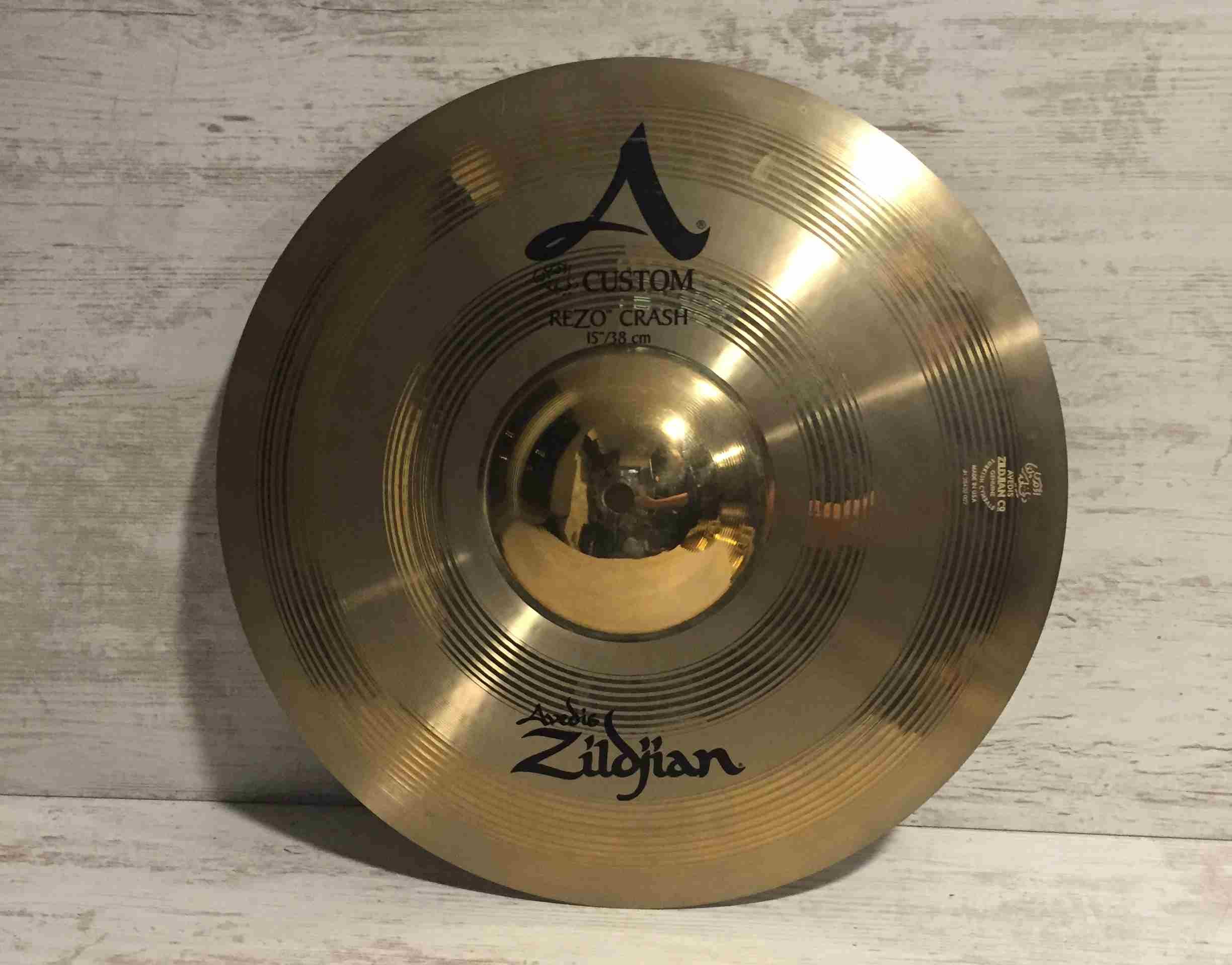 "ZILDJIAN A Custom Rezo Crash 16"" Destockage"