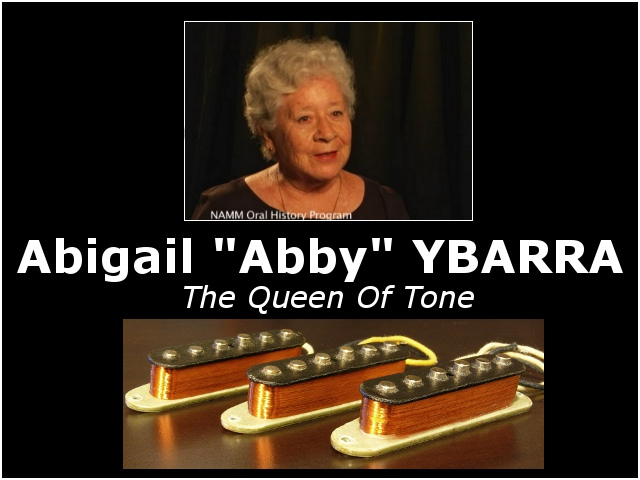 Abigail YBARRA, micros Abby, Handwound Pickups Reportage