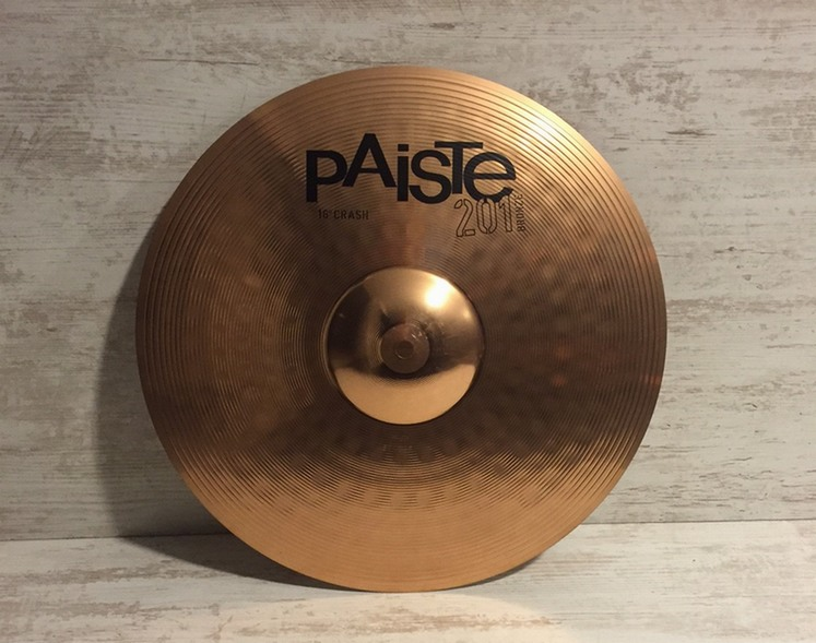 "PAISTE 201 Crash 16"" Destockage"