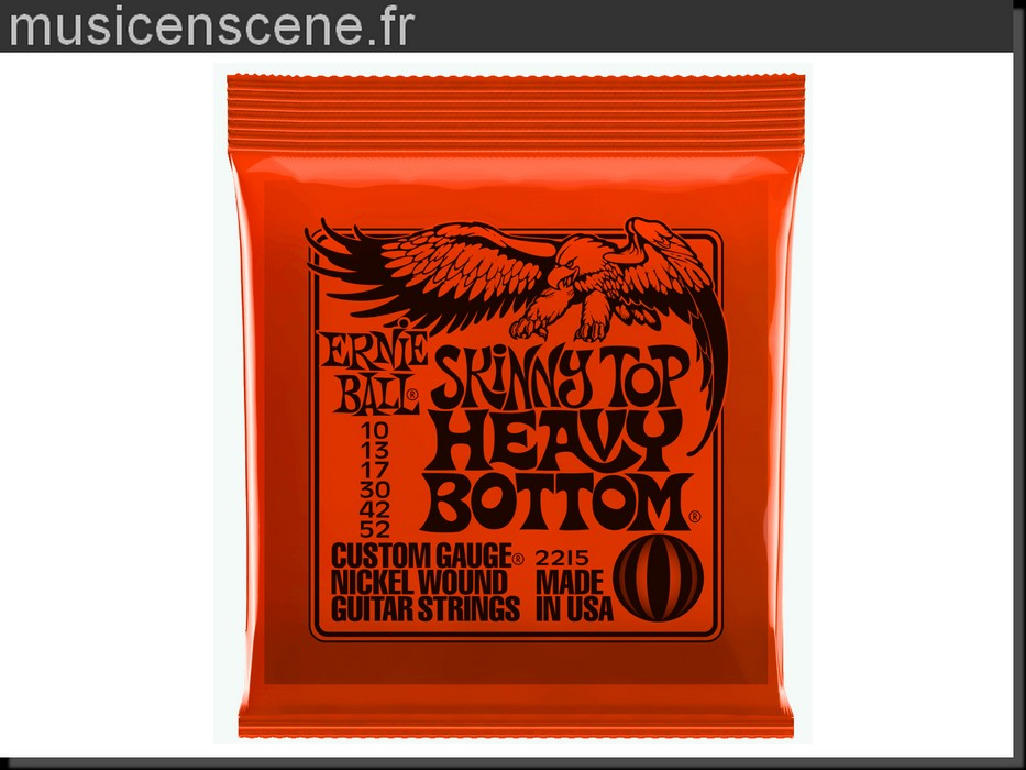 ERNIE BALL 2215 Top Heavy Bottom Slinky 10/46