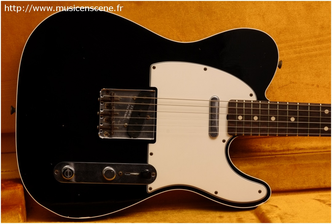 FENDER Custom Shop 61' Tele Custom Relic Black (VENDUE)