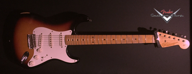 FENDER CS Early '59 Stratocaster Relic 3TS VENDUE