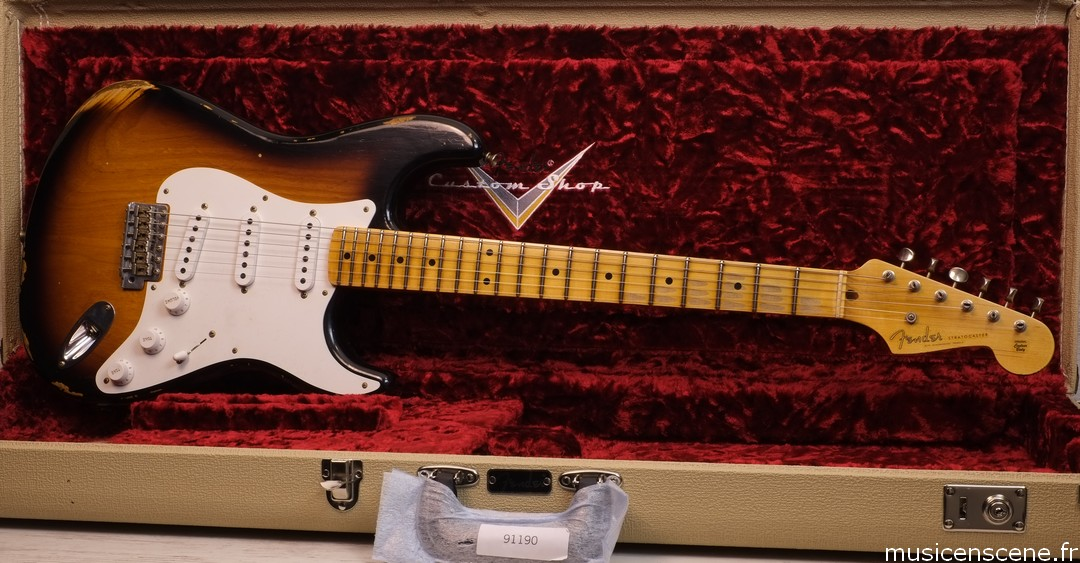 FENDER CS '55 Relic Strat 2 TS Limited Edition