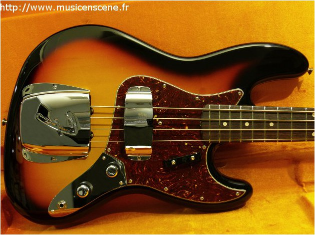 FENDER Custom Shop '60 NOS Jazz Bass (VENDUE)