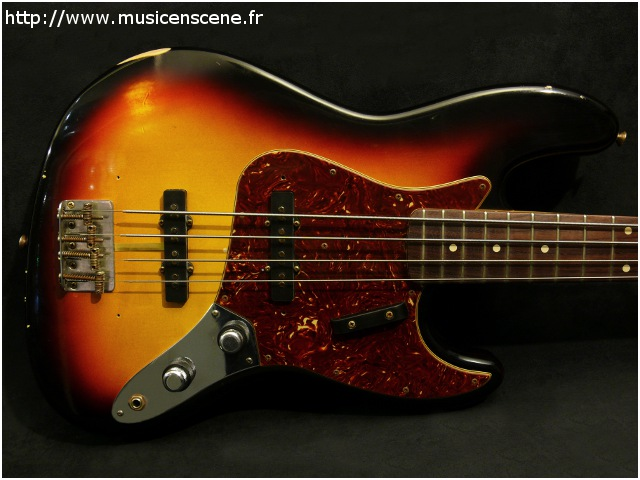 FENDER Custom Shop 1960 Relic Jazz Bass (VENDUE)