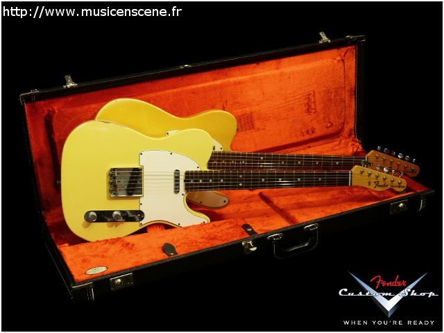 FENDER 67 Tele Custom Shop Reportage