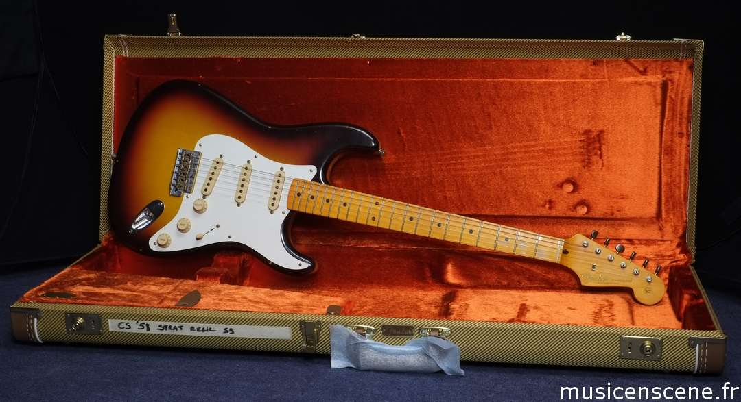 FENDER CS '58 Stratocaster Sunburst Journeyman Relic