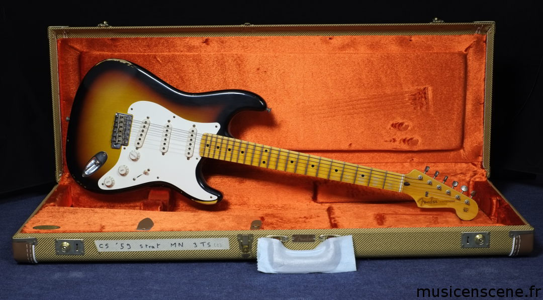 FENDER CS Early '59 Stratocaster Relic 3TS