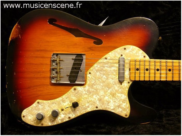 FENDER CS Limited 1969 Relic® Telecaster® Thinline (VENDUE)