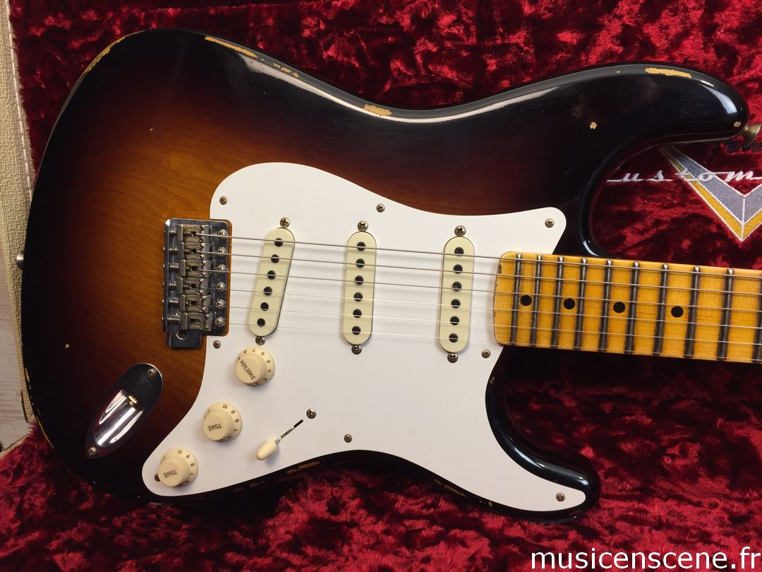FENDER CS 56' Strat 2TS Limited Edition Vendue