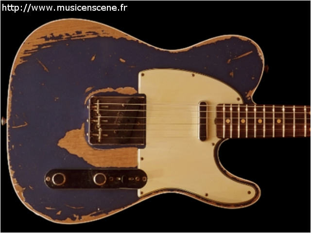 FENDER CS '60 Tele Custom Heavy Relic LPB ( VENDUE )