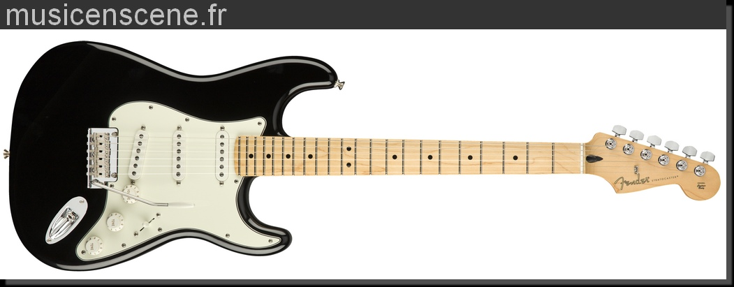 FENDER Player Stratocaster Black MN