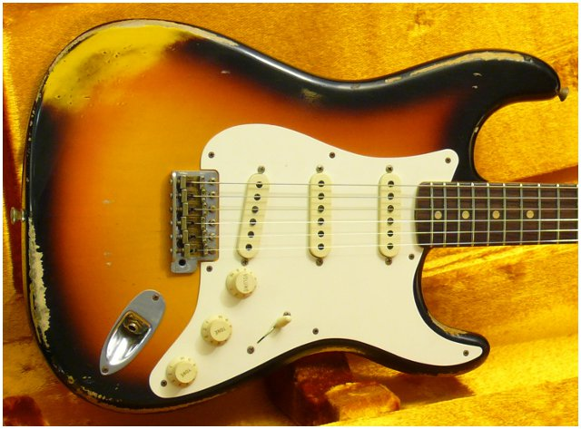 FENDER Custom Shop Heavy Relic 1959 Stratocaster (VENDUE)