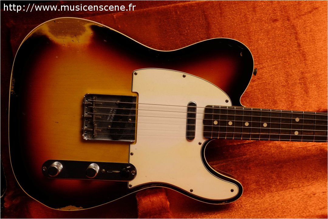 FENDER Custom Shop '63 Tele Custom 3TS Heavy Relic (VENDUE)