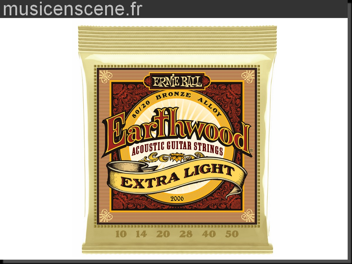 ERNIE BALL 2006 Earthwood Extra Light 10/50