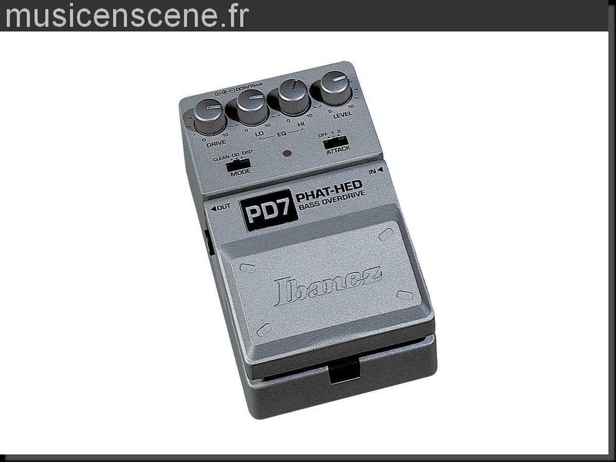 IBANEZ Bass Overdrive PD7