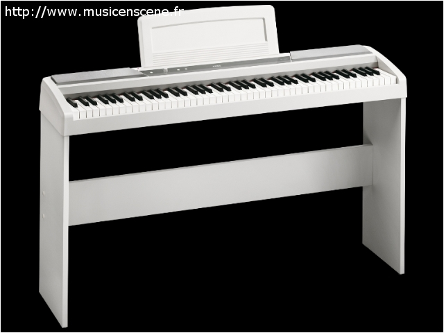 accueil vip pianos num riques korg sp170 wh piano. Black Bedroom Furniture Sets. Home Design Ideas