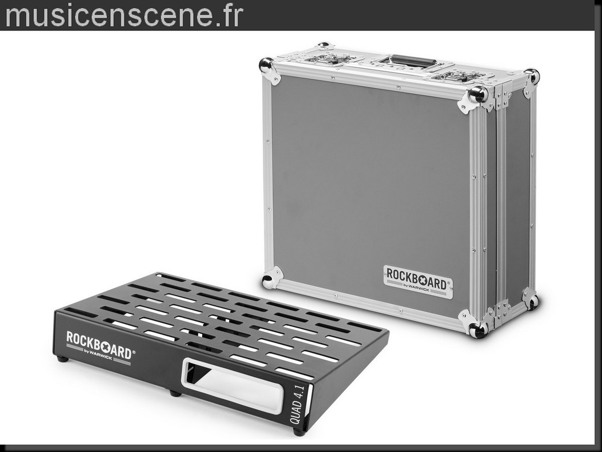 ROCKBOARD Quad 4.1 Pedal Board Flight Case