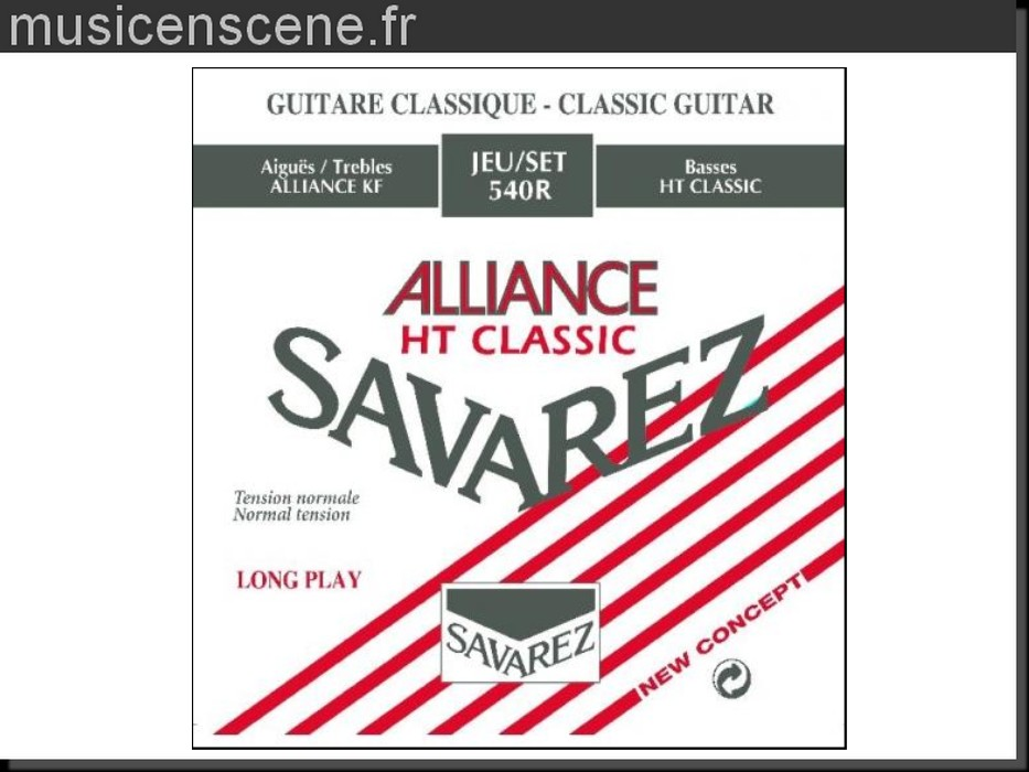 SAVAREZ HT Classic Alliance 540R