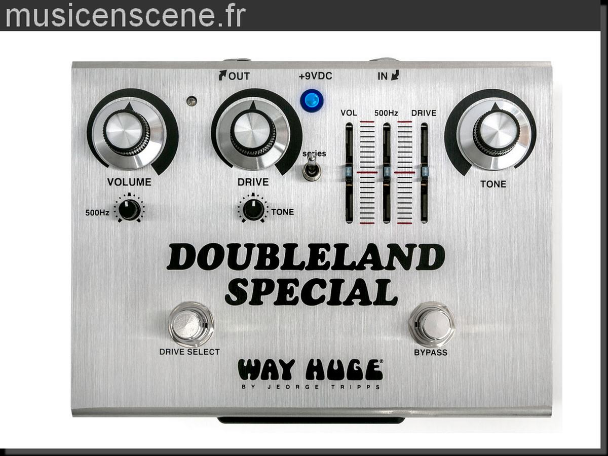 WAY HUGE Doubleland Special Sign. J.Bonamassa Ed. Limitée