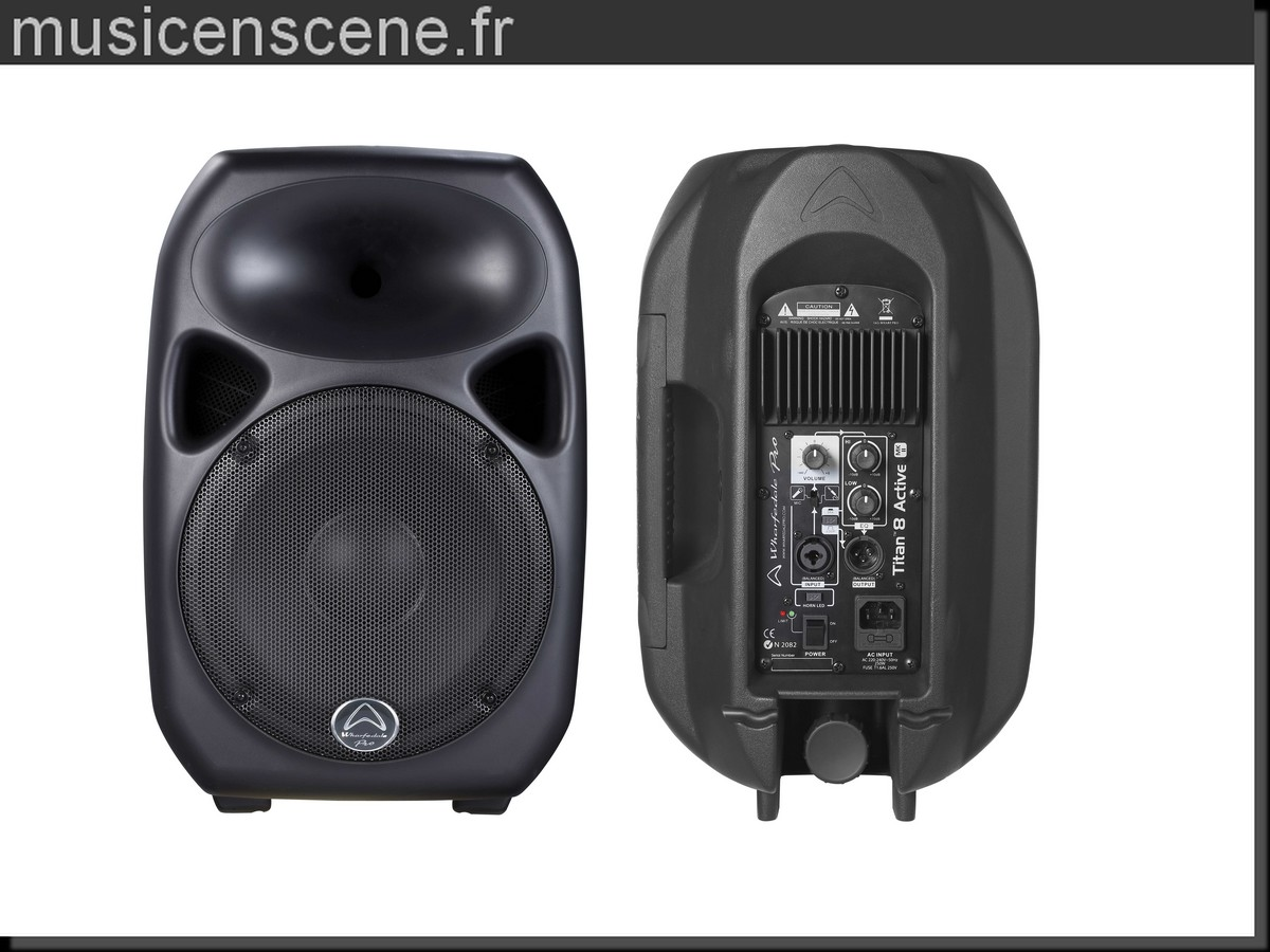 - SOLDES -WHARFEDALE PRO TITAN8ACT