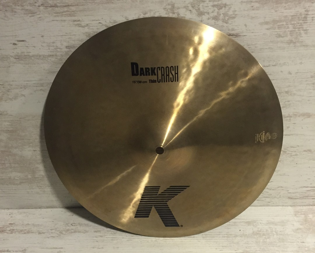 "ZILDJIAN K Dark Thin Crash 15"" Destockage"