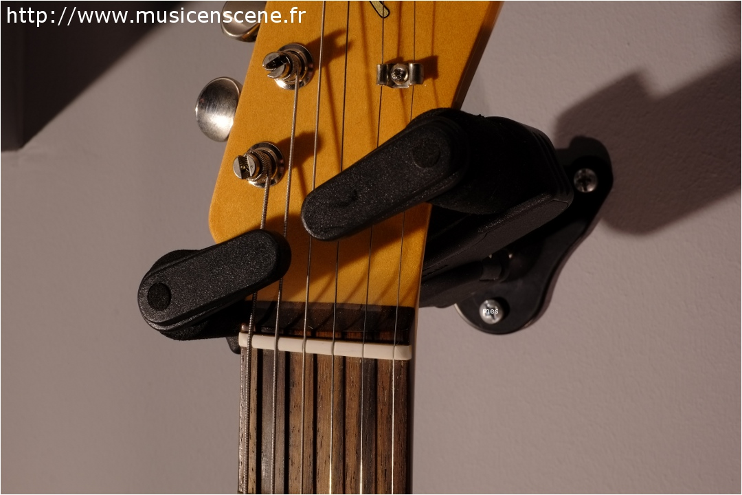 Accrocher Une Guitare Au Mur Dudewcom - Porte guitare mural